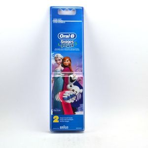 Oral-B 221664 - 2 brossettes recharges pour brosse électrique Reine des Neiges