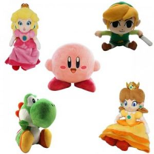 Abysse Corp Peluche Mario Bros Sanei Kirby 20 cm