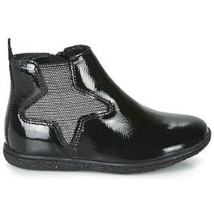 Kickers Boots enfant VERMILLON Noir - Taille 24,25,26,27