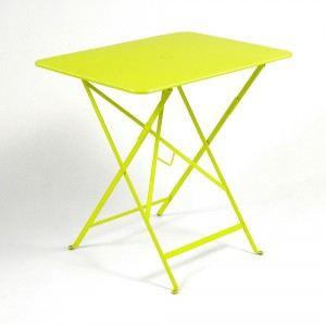 Fermob Bistro - Table de jardin rectangulaire pliante 77 x 57 cm