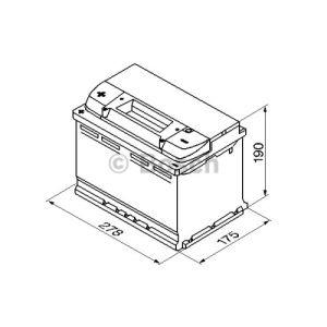 Bosch 0092S40090 - Batterie de démarrage