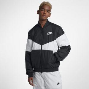 Nike Veste aviateurà motifs Sportswear Synthetic Fill pour Homme - Noir - Couleur Noir - Taille L