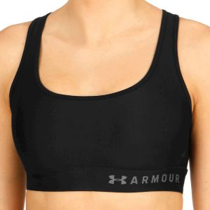 Under Armour Mid Crossback Soutien-Gorge de Sport Femme, Noir, FR (Taille Fabricant : XS)