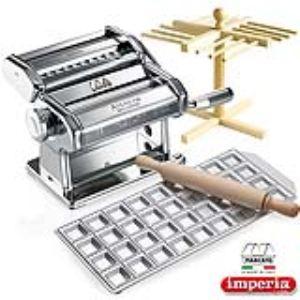 Marcato Machine à pâtes manuelle Wellness Atlas 150 avec séchoir et ravioli