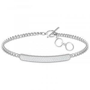Swarovski Bracelet Locket Gris