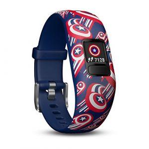 Garmin Vivofit Jr.2 - Bracelet connecté pour enfant Captain America