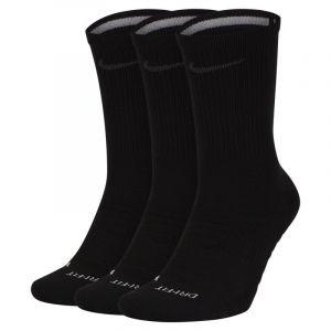 Nike Chaussettes de training mi-mollet Pro Everyday Max Cushioned (3 paires) - Noir - Taille XL - Unisex
