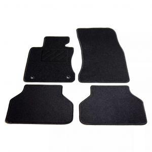 VidaXL Ensemble de tapis de voiture 4 pcs pour série 5 BMW E60/E61