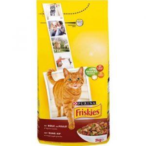 Friskies Croquettes pour chats Boeuf/Légumes