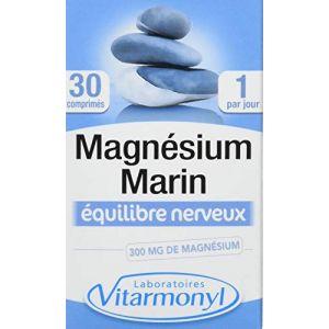 Laboratoires Vitarmonyl Magnésium marin, complément alimentaire, équilibre nerveux