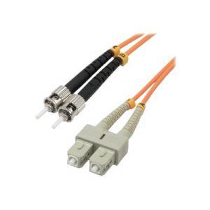 MCL Samar FJOM2/SCST-2M -  Fibre optique ST/SC multi-mode 50/125 microns OM2 m/m 2 m