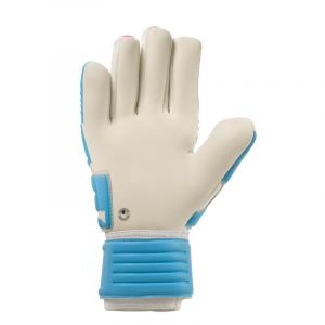 Uhlsport Elm Tight Absolutgrip Gants de gardien de but Bleu/Blanc/Magenta 9.5