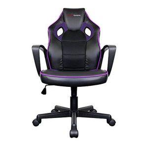 Tacens Chaise de jeu MGC0BP Métal PVC Noir Violet