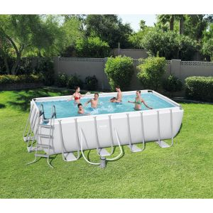 Bestway Kit piscine rectangulaire Power Steel Frame