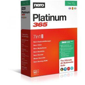 Logiciel de photo/vidéo Nero Platinum 365 [Windows]