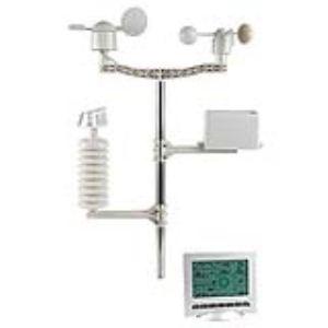 Velleman WS3080 - Station météo avec émetteur solaire et interface PC