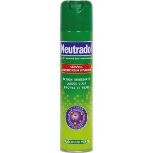 Neutradol Destructeur d'odeurs - Fraîcheur verte - 300 ml