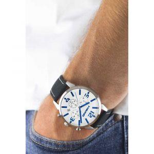 Head Homme Chronographe Quartz Montre avec Bracelet en Cuir HE-006-02