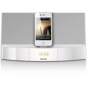 Philips AD713/12 - Station d'accueil avec affichage de l'heure pour iPod/iPhone