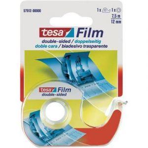 Tesa Film double-face - 1 rouleau + 1 dévidoir