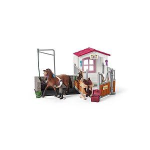 Schleich 42404 - Station de lavage avec box pour chevaux