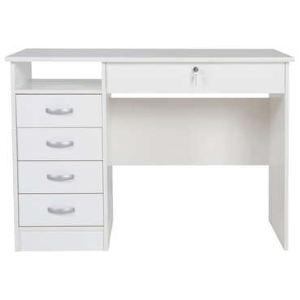 bureau college 2 5 tiroirs et 1 niche comparer avec. Black Bedroom Furniture Sets. Home Design Ideas