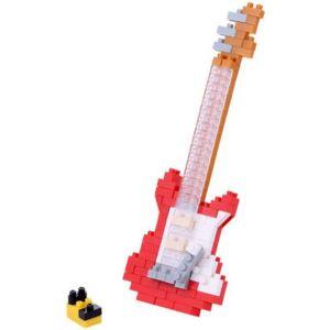 Kawada Nanoblock - Guitare électrique rouge (NBC-171)