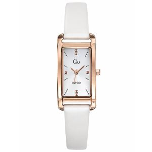 Go Girl Only Montre 699156 - Montre Cuir Blanc Femme