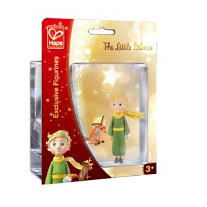 Hape Figurine Le Petit Prince : le Petit Prince et le renard