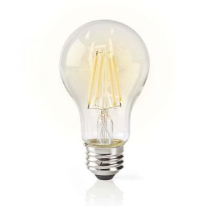 AMPOULE LED INTELLIGENTE WI-FI   FILAMENT   E27   BLANCHE   A60 NEDIS WIFILF10WTA60