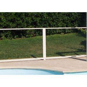 Chalet et Jardin Poteau pour barrière de piscine (6 x 117 cm)