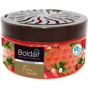 Boldair Perles parfumantes Fraise Cannelle 300 g - PROVEN ORAPI