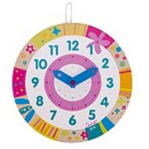 Goki 58551 - Horloge Hélène apprendre à lire l'heure