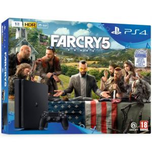 Sony PS4 Slim 1To + Far Cry 5
