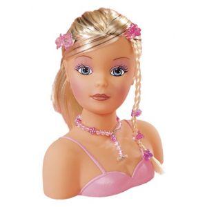 Simba Toys Tête à coiffer 19 cm