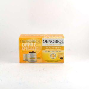 Oenobiol Solaire Intensif Nutriprotection pour peaux claires (Lot de 2 x 30 capsules)
