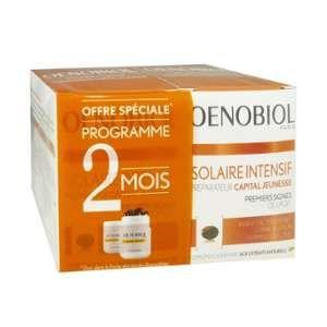 Oenobiol Solaire Intensif - Préparateur capital jeunesse (2 x 30 capsules)