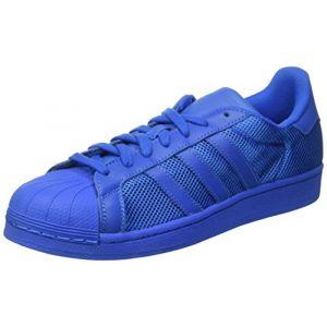 Adidas Superstar, Baskets Basses Hommes, Bleu (Bluebird/Bluebird/Bluebird), 47 1/3 EU