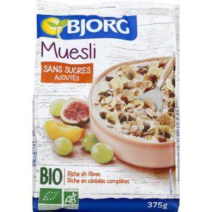 Bjorg Muesli croustillant et fruité, certifié AB