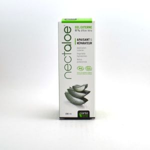 Sante verte Gel cutané soin de la peau Aloe Vera 97%