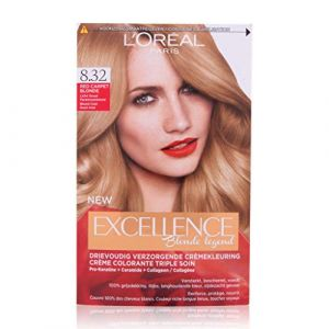 L'Oréal Coloration - Excelence Blonde Legende - 8.32 BLOND CLAIR DORE IRISE