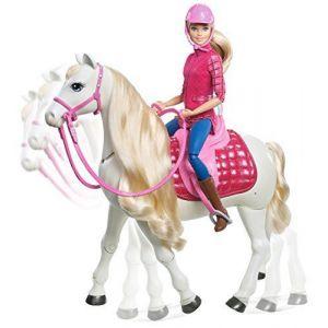 Mattel Barbie - Poupée cheval de rêve
