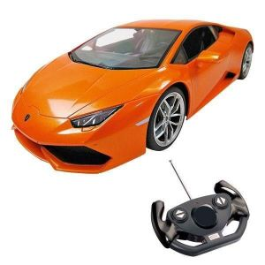 Mondo Voiture Telecommandée Lamborghini Huracan 1:14 Orange