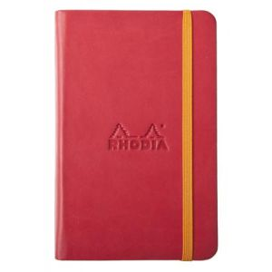 Rhodia 118653C Rhodiarama coquelicot A6 - Webnotebook 9 x 14 cm, 192 pages