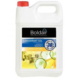 Boldair Nettoyant surodorant 3D Jardin d'agrumes - Bidon 5 litres
