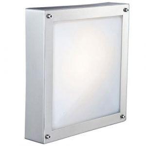 Globo Lighting Lampe d'extérieur Globo NOLIN Acier inoxydable, Blanc, 1 lumière Design Extérieur NOLIN