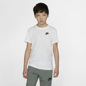 Nike Tee-shirt Sportswear pour Enfant plus âgé - Blanc - Taille S