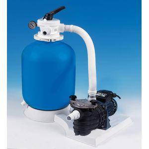 Aqualux 103458 - Filtre à sable 5 m3/h pour piscine hors-sol
