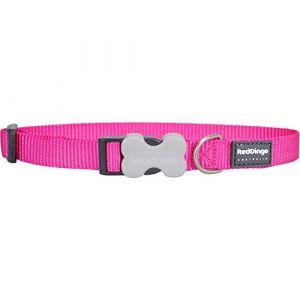 RedDingo Collier pour chien Rose vif Taille S 15 mm x 24-37cm