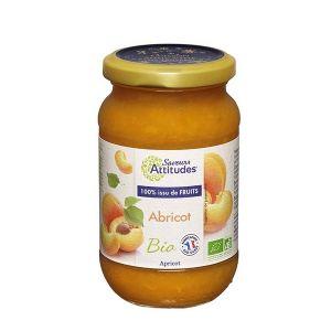 Saveurs attitudes Confiture Abricot bio sans sucre ajouté